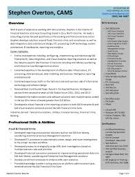 Analytics Resume Examples by Business Intelligence Analyst Resume Example Http