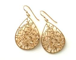 gold teardrop earrings teardrop earrings etsy