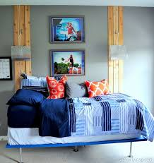 Blue And Gray Bedroom Remodelaholic A Colorful Teen Boy Room