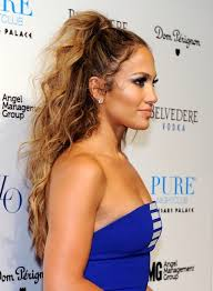 j lo ponytail hairstyles jennifer lopez tousled long curly hairstyle 2013 popular haircuts