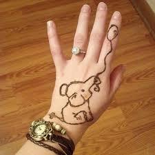 resultado de imagen para henna sencilla heena pinterest