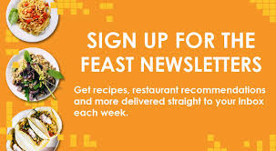 newsletter cuisine newsletter feast magazine