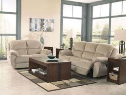Microfiber Reclining Sofa Andrea Modern Gray Microfiber Recliner Sofa Set Living Room