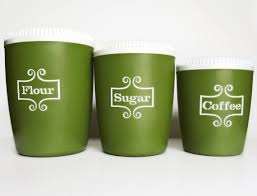 green canisters kitchen an etsy clean green kitchen make recommends