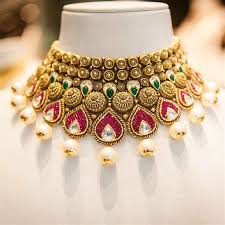 indian wedding necklace images 5 most beautiful forms of wedding jewellery jpg