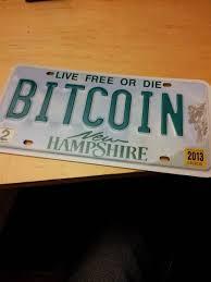 New Hampshire Vanity Plate Bitcoin Vanity Plate Custom License Plates Personalized Vehicle