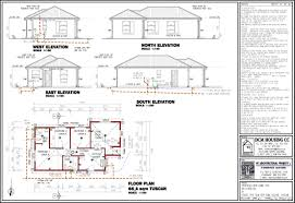 3 bedroom house designs and floor plans in south africa