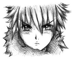 sketch face boy by angy89 on deviantart