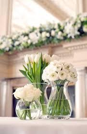 White Rose Centerpieces For Weddings simple white flower centerpieces minimalist pinterest white