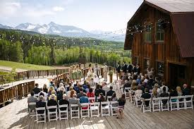 affordable wedding venues in colorado telluride wedding bookman telluride weddings ranch