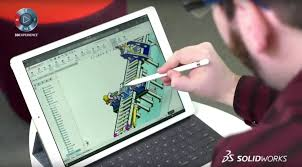 solidworks online edition on ipad pro youtube