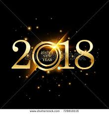 happy new year 2018 vector illustration stock vector 511677664