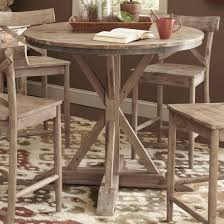 round counter height table set ideas of dining tables 7 piece round counter height dining set