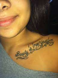 tattoos for small quotes collarbone getattoos us