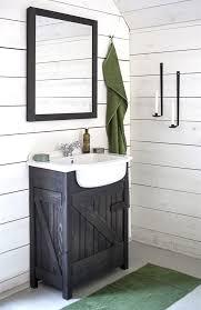 Rustic Wood Bathroom Vanity - rustic shower design idea country bathroom vanities dark wood