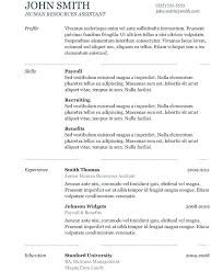 resume template copy and paste copy and paste resume copy paste resume template interesting