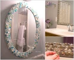 diy bathroom mirror ideas how wonderful are these diy bathroom mirror ideas decor