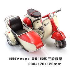 usd 46 87 antique 1959 vespa piaggio sidecar tricycle motorcycle