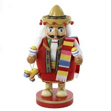 amazon com kurt adler chubby mexican nutcracker 10 25 inch home