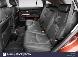 lexus rx 350 year 2008 2008 lexus rx 350 in red rear seats stock photo royalty free