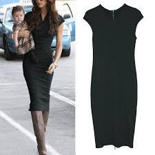 zipper pencil bodycon knee length dress other dresses dressesss