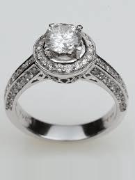 semi mount engagement rings 14k white gold halo pave semi mount engagement ring halo