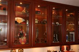 wood display case with glass doors choice image glass door