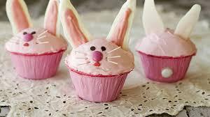 pink bunny cupcakes recipe bettycrocker