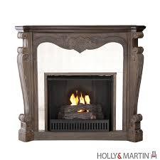 holly u0026 martin oakhurst gel fireplace burnt oak freestanding