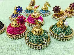 fancy jhumka earrings fancy silk thread jhumka tutorial