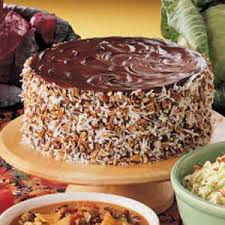 german chocolate sauerkraut cake recipe taste of home