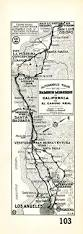 Los Angeles Map Poster by Whimsical Old Map Depicts California At A Time When U0027hollywood Was