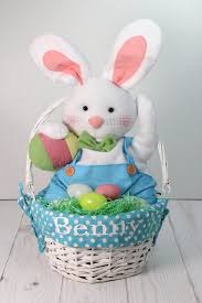 personalized easter bunny personalized easter basket home kissmybunz boutique