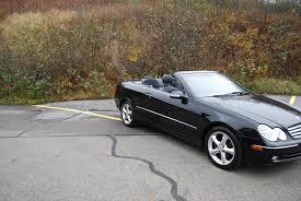 2005 mercedes benz clk320 cabriolet