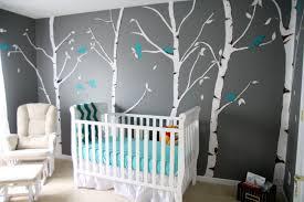 chambre gris et bleu décoration chambre d enfant grise