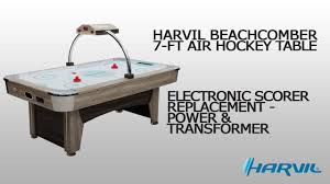 harvil air hockey table electronic scorer replacement power transformer harvil