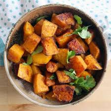 roasted veggies thanksgiving moroccan spice butternut squash bowl of delicious
