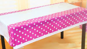 108x180cm rectangle party tablecloth baby shower table cover