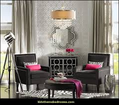luxe room decor hollywood style decorating glamour themed