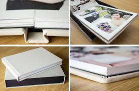 Flush Mount Wedding Album Flush Mount Wedding Albums White Peacock Album Design