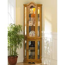 curio cabinet corner curio cabinets ikea with glass doors small