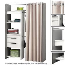 Schlafzimmerschrank Cabinet Begehbarer Kleiderschrank Schrank Vorhang Weiss Wandschrank