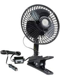 12 volt clip on fan 12 volt oscillating clip car fan