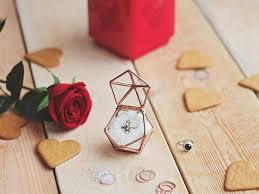 Wedding Ring Box by Geometric Proposal Ring Box Wedding Ring Box Winter Wedding
