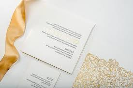 Foil Wedding Invitations Letterpress U0026 Gold Foil Wedding Invitations U2013 Pike Street Press