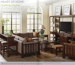 the stickley highlands collection features the coveted gathering