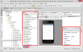 android studio ui design tutorial pdf hello android the hello world application codeproject