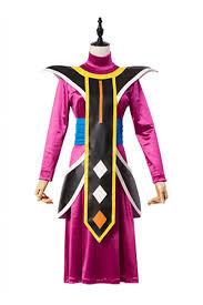 dragon ball asistente de dios de la destruccion whis traje cosplay