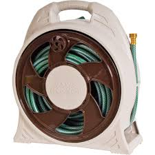Wall Mounted Hose Reels Garden Metal by Ames 60 Ft Cassette Portable Hose Reel With Hose 2388110 The