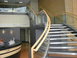 Contemporary Handrail Designs Ideas Modern Inteior With Floating Staircase Feat Glass